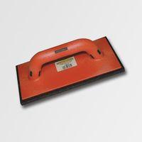 ruční nářadí hladítka, škrabáky hladítko s černou plstí plastové 280x140x10 mm