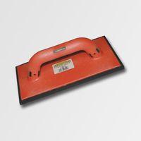ruční nářadí hladítka, škrabáky hladítko s gumovou pěnou černou plast 280x140x10