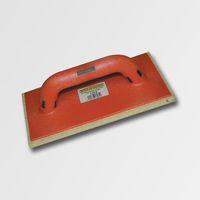 ruční nářadí hladítka, škrabáky hladítko s bílou plstí plastové 220x130x8 mm