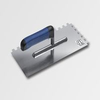ruční nářadí hladítka, škrabáky hladítko 280x130  zub10 nerez -softgrip