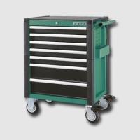 boxy, kufry, brašny vozík montážní kovový 7 zásuvek prázdný PROFI