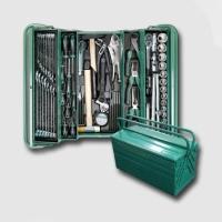 boxy, kufry, brašny kufr na nářadí kovový 465x215x235 mm/3 68 dílů