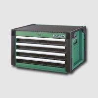boxy, kufry, brašny skříň montážní kovová 4 zásuvky 716x495x4379 mm
