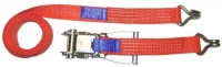 pásy upínací dvoudílné pás upínací popruh dvoudílný 5/10T  4m š. 75 mm