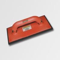 ruční nářadí hladítka, škrabáky hladítko s gumovou pěnou černou plast 225x130x8