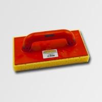 ruční nářadí hladítka, škrabáky hladítko s houbou mořskou řezané plast 280x140x30