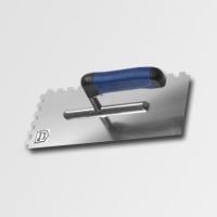 ruční nářadí hladítka, škrabáky hladítko 280x130  zub12 nerez -softgrip