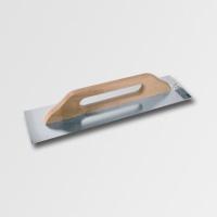 ruční nářadí hladítka, škrabáky hladítko 680 mm rovné nerez dřev. ručka